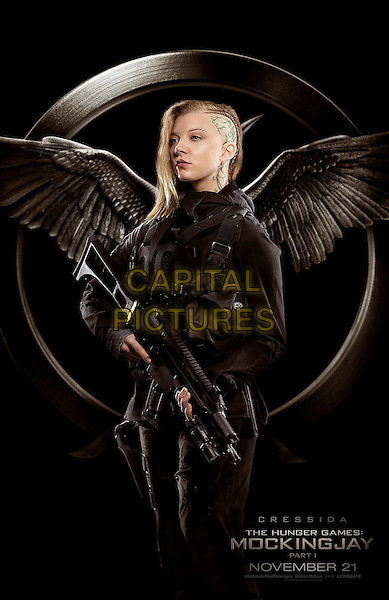 POSTER ART with Natalie Dormer as Cressida<br /> in The Hunger Games - Mockingjay - Part 1 (2014) <br /> *Filmstill - Editorial Use Only*<br /> CAP/NFS<br /> Image supplied by Capital Pictures