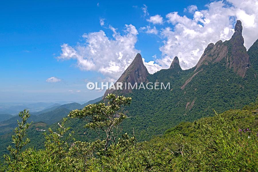 Pico Dedo de Deus na Serra dos Orgaos. Teresopolis. Rio de Janeiro. Foto de Luciana Whitaker.