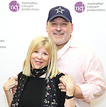 """Nan Knighton and Frank Wildhorn attend the Meet the Cast of The MCP Production of """"The Scarlet Pimpernel"""" at Pearl Rehearsal studio Theatre on February 14, 2019 in New York City."""