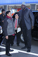 NEW YORK, NY - January 09: Shaquille O'Neal at GMA Day in New York City on January 09, 2019. <br /> CAP/MPI/RW<br /> &copy;RW/MPI/Capital Pictures
