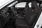 Front seat view of 2019 Skoda Kodiaq RS 5 Door SUV Front Seat  car photos