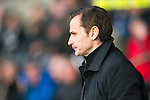 St Mirren v St Johnstone.....02.02.13      Scottish Cup.St Mirren manager Danny Lennon.Picture by Graeme Hart..Copyright Perthshire Picture Agency.Tel: 01738 623350  Mobile: 07990 594431