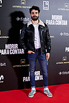 Nico Romero attends to 'Morir para contar' film premiere during the Madrid Premiere Week at Callao City Lights cinema in Madrid, Spain. November 13, 2018. (ALTERPHOTOS/A. Perez Meca)
