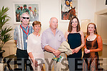 Writers Week : Author Louis de Bernieres pioctured with Gerry McDonnell, Eilis Wren Lucy Caulwell & journalist Martina Devlin at the Listowel Arms Hotel during Writers week.