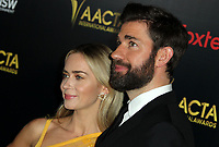 04 January 2019 - Los Angeles, California - Emily Blunt, John Krasinski. 8th AACTA International Awards hosted by the Australian Academy held at SKYBAR at Mondrian Los Angeles.        <br /> CAP/ADM<br /> ©ADM/Capital Pictures