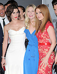 Lizzy Caplan, Kirsten Dunst and Isla Fisher attends The Premiere of Bachelorette at The Arclight Theatre in Hollywood, California on August 23,2012                                                                               © 2012 DVS / Hollywood Press Agency