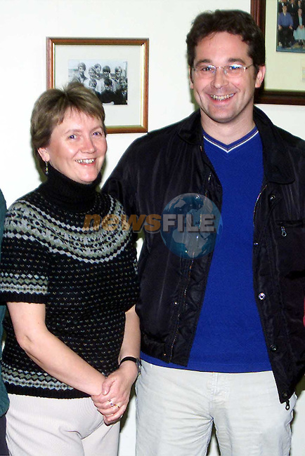 Marie Aylward and Patrick Griffen at the Scoil Mhuire na Trocaire Fashion Show in the Bohemian Centre, Ardee..Picture: Paul Mohan/Newsfile