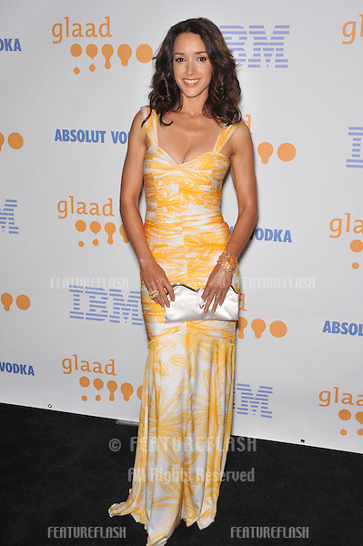 Jennifer Beals at the 20th Annual GLAAD Media Awards at the Nokia Theatre L.A. Live..April 18, 2009  Los Angeles, CA.Picture: Paul Smith / Featureflash