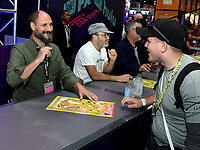 FOX FAN FAIR AT SAN DIEGO COMIC-CON© 2019: L-R: BOB'S BURGERS Creator Loren Bouchard and Cast Member H. Jon Benjamin during the BOB'S BURGERS booth signing on Friday, July 19 at the FOX FAN FAIR AT SAN DIEGO COMIC-CON© 2019. CR: Alan Hess/FOX © 2019 FOX MEDIA LLC