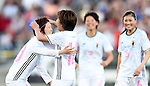 (L-R) Mizuho Sakaguchi, Mana Iwabuchi (JPN), JUNE 2, 2016 - Football / Soccer : Mana Iwabuchi of Japan celebrates after scoring their 1st goal during the Women's International Friendly match between United States 3-3 Japan at Dick's Sporting Goods Park in Commerce City, Colorado, United States. (Photo by AFLO)