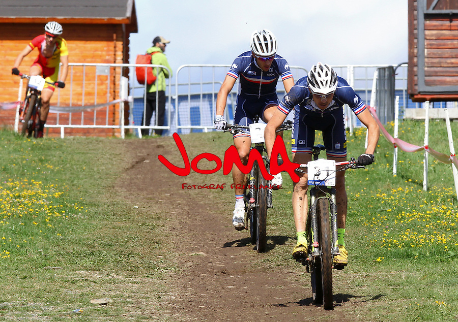05.09.2015 La Massana Andorra. 201 UCI Mountain Bike World Champions.Picture show Tempier  Stephane (FRA) in action during Men ELite Cross-country Olympic World Champions