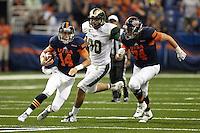 SAN ANTONIO, TX - SEPTEMBER 27, 2015: The Colorado State University Rams defeat the University of Texas at San Antonio Roadrunners 33-31 at the Alamodome. (Photo by Jeff Huehn)