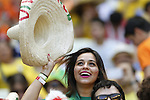 Mexico fans (MEX), JUNE 29, 2014 - Football / Soccer : FIFA World Cup Brazil<br /> match between Netherlands and Mexico at the Castelao stadium in Fortaleza, Brazil. (Photo by AFLO)