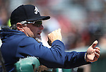 Reno Aces Manager Phil Nevin works a game against the Iowa Cubs at Greater Nevada Field in Reno, Nev., on Tuesday, May 17, 2016. <br />