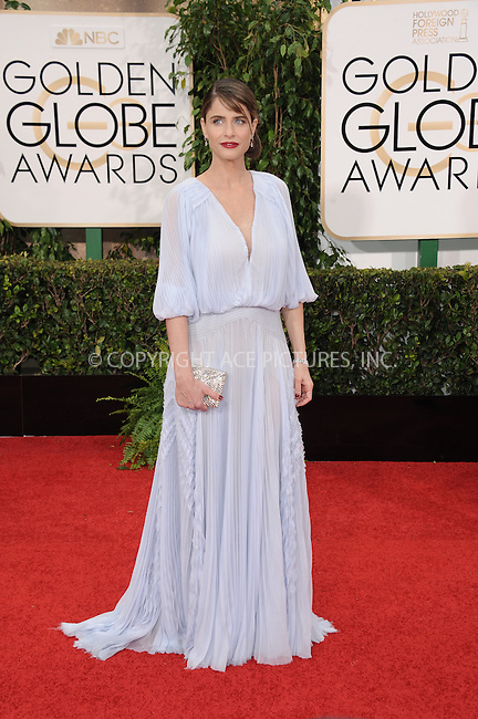 WWW.ACEPIXS.COM<br /> <br /> January 11 2015, LA<br /> <br /> Amanda Peet  arriving at the 72nd Annual Golden Globe Awards at The Beverly Hilton Hotel on January 11, 2015 in Beverly Hills, California<br /> <br /> By Line: Peter West/ACE Pictures<br /> <br /> <br /> ACE Pictures, Inc.<br /> tel: 646 769 0430<br /> Email: info@acepixs.com<br /> www.acepixs.com