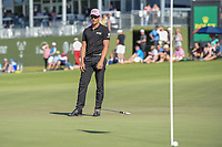 Henrik Stenson (SWE) drops his putter in reaction to barely missing his birdie putt on 18 during round 4 of the AT&T Byron Nelson, Trinity Forest Golf Club, Dallas, Texas, USA. 5/12/2019.<br /> Picture: Golffile   Ken Murray<br /> <br /> <br /> All photo usage must carry mandatory copyright credit (© Golffile   Ken Murray)