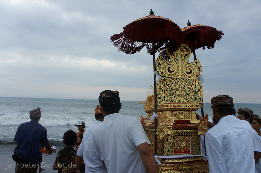 Cremation ceremonies in Bali guide the spirit of the passed family member from underworld death realms to divine heavenly nature spirit life circle uprise of the death, becoming a divine ancestor to be reborn in the next generation of the family