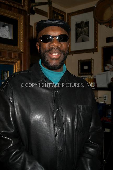 "Memphis Celebrates ""50 Years of Rock and Roll"" -- NYC Kick-Off. New York, January 21, 2004. PICTURED: Isaac Hayes. Please byline: AJ SOKLANER/NY Photo Press.   ..*PAY-PER-USE*      ....NY Photo Press:  ..phone (646) 267-6913;   ..e-mail: info@nyphotopress.com"