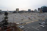 1993 January..Redevelopment..Macarthur Center.Downtown North (R-8)..LOOKING SOUTH FROM FREEMASON STREET GARAGE...NEG#.NRHA#..