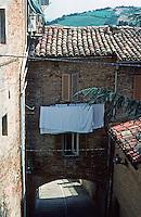 Urbino:   Lower Street.  Photo '83.