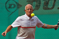 2013,August 21,Netherlands, Amstelveen,  TV de Kegel, Tennis, NVK 2013, National Veterans Tennis Championships,   Bert Bos<br /> Photo: Henk Koster