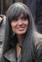 Angelina Jolie <br /> filming Salt 2009<br /> Photo By John Barrett/CelebrityArchaeology.com