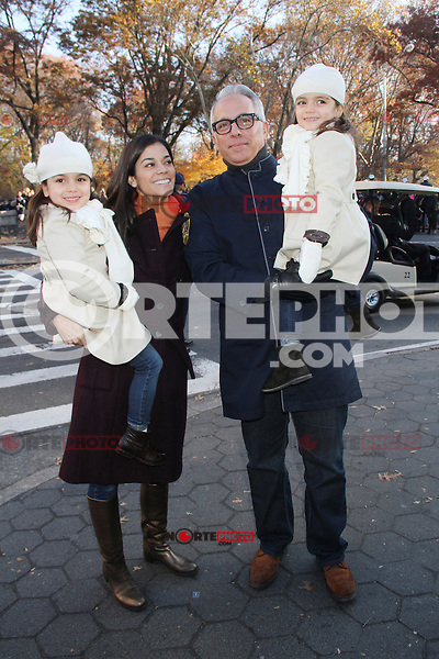 NEW YORK, NY - NOVEMBER 22: Margaret Zakarian and Chef Geoffrey Zakarian at the 86th Annual Macy's Thanksgiving Day Parade on November 22, 2012 in New York City. Credit: RW/MediaPunch Inc. /NortePhoto