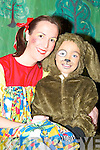 At The Wizard of Oz pantomime in Rathmore Community Centre last Sunday were, Leanne ORiordan, Sinead Murphy