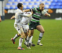 READING, ENGLAND :  during the Amlin Challenge Cup match between London Irish and Bordeaux-Begles at Madejski Stadium on January 18, 2013 in Reading, England.