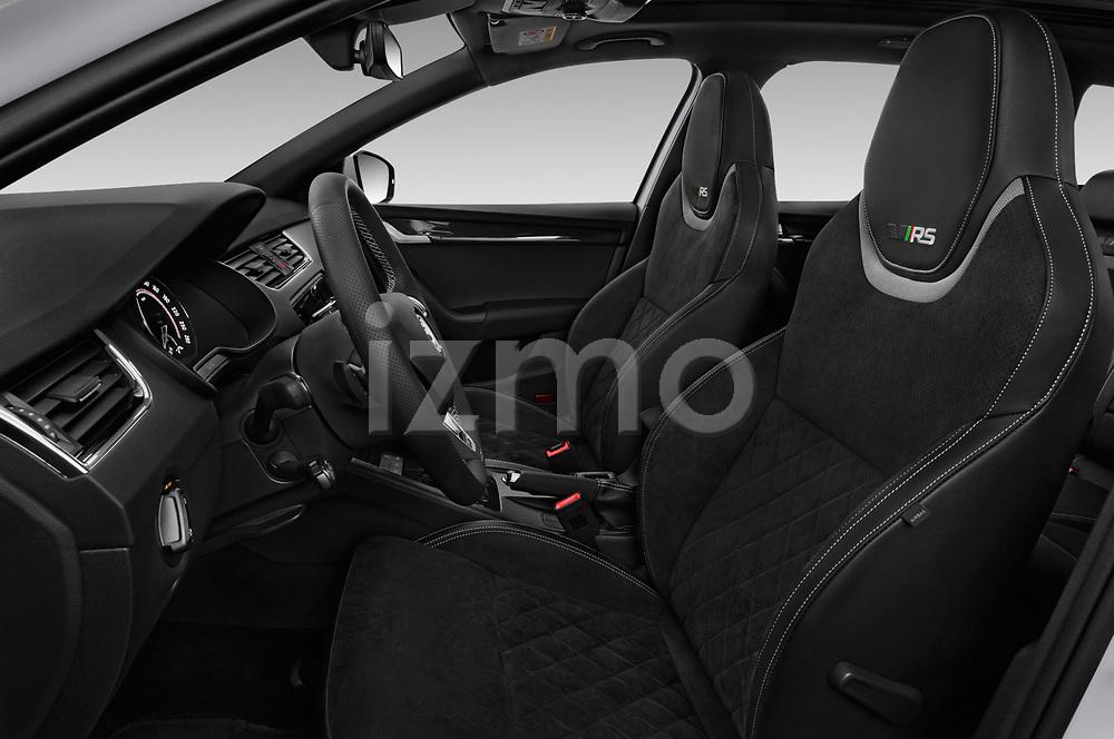 Front seat view of a 2017 Skoda Octavia Combi RS 5 Door Wagon front seat car photos