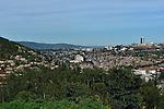 Kigalia, Rwanda's capital from a northern suburb