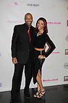 DJ Shawn Cheatham and his daughter Vanessa at Color of Beauty Awards hosted by VH1's Gossip Table's Delaina Dixon and Maureen Tokeson-Martin on February 28, 2015 with red carpet, awards and cocktail reception at Ana Tzarev Gallery, New York City, New York.  (Photo by Sue Coflin/Max Photos)