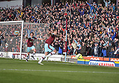 02/05/16 Sky Bet League Championship  Burnley v QPR<br /> Fans celebrate Vokes's goal