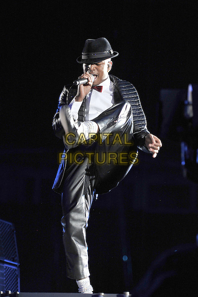 Ne-Yo.Michael Forever Tribute Concert at The Millenium Stadium, Cardiff, Wales, UK 8th October 2011.performing live in on stage .CAP/MAR.© Martin Harris/Capital Pictures.