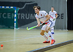 Almere - Zaalhockey  Amsterdam-Den Bosch (m) .Boris Burkhardt (Adam)     TopsportCentrum Almere.    COPYRIGHT KOEN SUYK