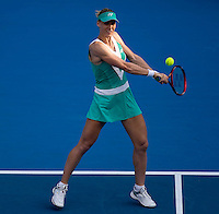 Elena Dementieva (RUS) against Daniela Hantuchova (SVK) in the seocnd round of the Ladies Singles. Dementieva beat Hantuchova 6-2 4-6 6-2..International Tennis - Medibank International Sydney - Tues 12 Jan 2010 - Sydney Olympic Park  Tennis Centre- Sydney - Australia ..© Frey - AMN Images, 1st Floor, Barry House, 20-22 Worple Road, London, SW19 4DH.Tel - +44 20 8947 0100.mfrey@advantagemedianet.com