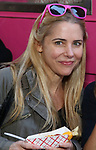 Kerry Butler from 'Mean Girls' cast visits the 'Mean Girls' themed Food Truck in celebration of 'Mean Girls' Box Office Opening Day on Broadway in Times Square on October 3, 2017 in New York City.