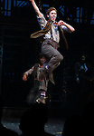 Ensemble Featuring: Garett Hawe.during the 'NEWSIES' Opening Night Curtain Call at the Nederlander Theatre in New York on 3/29/2012
