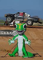 Apr 16, 2011; Surprise, AZ USA; LOORRS driver Matt Cook during round 3 at Speedworld Off Road Park. Mandatory Credit: Mark J. Rebilas-.