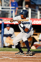 July 16, 2009:  Second Baseman Francisco Soriano of the Vermont Lake Monsters during a game at Russell Diethrick Park in Jamestown Jammers, NY.  The Lake Monsters are the NY-Penn League Short-Season Class-A affiliate of the Washington Nationals.  Photo By Mike Janes/Four Seam Images