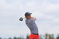 Collin Morikawa of Team USA on the 6th tee during Round 4 of the WATC 2018 - Eisenhower Trophy at Carton House, Maynooth, Co. Kildare on Saturday 8th September 2018.<br /> Picture:  Thos Caffrey / www.golffile.ie<br /> <br /> All photo usage must carry mandatory copyright credit (&copy; Golffile | Thos Caffrey)