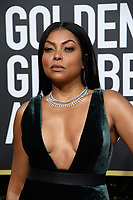 Taraji P. Hensen attends the 76th Annual Golden Globe Awards at the Beverly Hilton in Beverly Hills, CA on Sunday, January 6, 2019.<br /> *Editorial Use Only*<br /> CAP/PLF/HFPA<br /> Image supplied by Capital Pictures