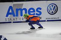 SCHAATSEN: DORDRECHT: Sportboulevard, Korean Air ISU World Cup Finale, 11-02-2012, Relay Men, Daan Breeuwsma NED (59),  ©foto: Martin de Jong