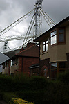 Preston North End 1 Reading 0, 19/08/2017. Deepdale, Championship. An exterior view of the stadium before Preston North End take on Reading in an EFL Championship match at Deepdale. The home team won the match 1-0, Jordan Hughill scoring the only goal after 22nd minutes, watched by a crowd of 11,174. Photo by Colin McPherson.