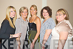 Pictured at the fashion show in the Killarney Court hotel on Thursday night were Mairead Moynihan, Eileen McCarthy, Lee Griffin, Sheila Corsini and Gillian O'Connor.......   Copyright Kerry's Eye 2008