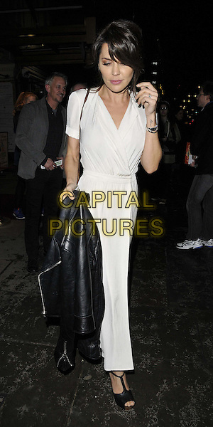 LONDON, ENGLAND - JANUARY 29: Danielle Lineker attend the &quot;Di and Viv and Rose&quot; press night, Vaudeville Theatre, The Strand, on Thursday January 29, 2015 in London, England, UK. <br /> CAP/CAN<br /> &copy;Can Nguyen/Capital Pictures
