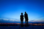 "Zane and Maggie took a moment to look out over Anchorage at the end of a day of sightseeing. The two have been together, on-and-off, since they were 14. ""He asked me out to a rodeo,"" Maggie said of their first date. While the two have many hurdles to overcome, Maggie says she is hopeful they will survive as a couple."