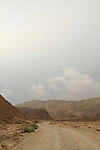 Israel, Eilat mountains, the road to Amram Columns