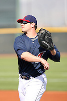 Matt LaPorta. Cleveland Indians spring training workouts at their complex in Goodyear, AZ - 03/06/2010.Photo by:  Bill Mitchell/Four Seam Images.