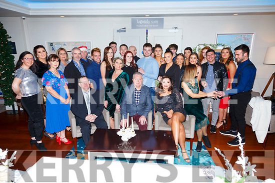 Staff from the Market House in Cahersiveen at their Christmas Party night out in the Sea Lodge in Waterville on Saturday night.